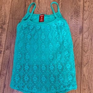 Girls lace top.